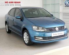Xe Volkswagen Polo Sedan, màu xanh dương chính hãng, trả góp 90% nhận xe ngay/ hotline: 090.898.8862 giá 699 triệu tại Tp.HCM