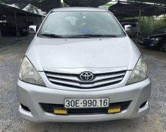 Bán xe Toyota Innova G sản xuất năm 2010, màu bạc giá 378 triệu tại Hà Nội