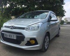 Cần bán lại xe Hyundai Grand i10 1.2 MT 2015, màu bạc, giá chỉ 320 triệu giá 320 triệu tại Hà Nội