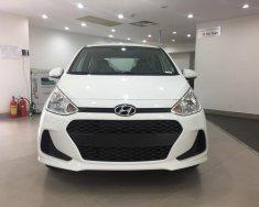 Bán Hyundai I10 1.2 AT màu trắng xe có sẵn giao ngay, hỗ trợ vay trả góp lãi suất ưu đãi giá 405 triệu tại Tp.HCM
