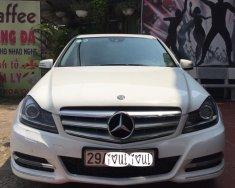 Bán xe Mercedes C 2013, màu trắng, nhập khẩu nguyên chiếc, LH 0902038596 giá 740 triệu tại Hà Nội
