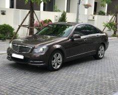 Cần bán xe Mercedes C250 Exclusive 2014 màu nâu, số tự động giá 950 triệu tại Hà Nội