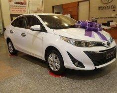 Bán ô tô Toyota Vios 1.5G sản xuất 2018, màu trắng giá cạnh tranh giá 606 triệu tại Tp.HCM