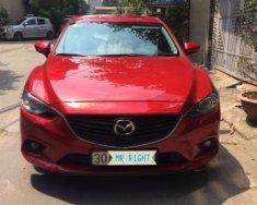 Chính chủ bán Mazda 6 2.0 AT đời 2014, màu đỏ giá 725 triệu tại Hà Nội