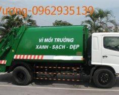 Bán xe cuốn ép rác Hino 9 khối giá 950 triệu tại Hà Nội