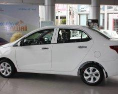Bán Hyundai I10 1.2 AT Sedan màu trắng xe có sẵn giao ngay, hỗ trợ vay trả góp lãi suất ưu đãi, LH 0903 175 312 giá 415 triệu tại Tp.HCM