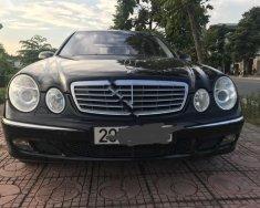 Bán Mercedes E240 AT, 2003, xe màu đen, tên tư nhân một chủ từ mới, bảo dưỡng sửa chữa 100% trong hãng giá 280 triệu tại Hà Nội