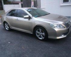 Gia đình cần bán xe Toyota Camry 2.5Q 2014, xe một đời chủ, màu nâu vàng, số tự động  giá 878 triệu tại Tp.HCM