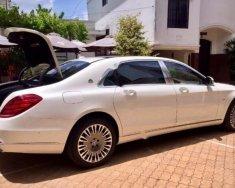 Bán xe Mercedes S600 MayBach V12 6.0L, màu trắng, nhập khẩu Đức, sản xuất 2016, đăng ký 2017 giá 9 tỷ 600 tr tại Tp.HCM