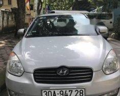 Cần bán gấp Hyundai Accent MT đời 2009, màu bạc, xe nhập   giá Giá thỏa thuận tại Hà Nội