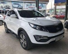 Bán Kia Sportage 2.0AT màu trắng, nhập khẩu nguyên chiếc Hàn Quốc, sản xuất và đăng ký cá nhân 08/2015  giá 746 triệu tại Tp.HCM