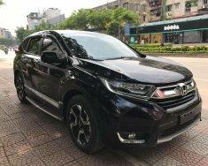 Cần bán lại xe Honda CR V 1.5 Turbo G đời 2018, màu đen   giá 1 tỷ 155 tr tại Hà Nội