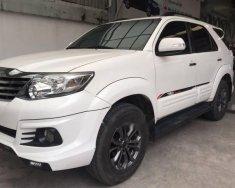 Cần bán gấp Toyota Fortuner TRD đời 2016, màu trắng số tự động  giá Giá thỏa thuận tại Tp.HCM
