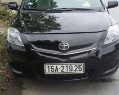 Cần bán xe Toyota Vios sản xuất năm 2009, màu đen chính chủ giá 235 triệu tại Hải Phòng