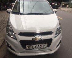 Cần bán gấp Chevrolet Spark 2016, màu trắng xe gia đình  giá 245 triệu tại Đà Nẵng