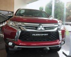 Bán Mitsubishi Pajero Sport 4x2 AT đời 2018, màu đỏ, nhập khẩu nguyên chiếc chỉ với 1 tỷ 63 triệu. LH: 0968.660.828 giá 1 tỷ 63 tr tại Nghệ An
