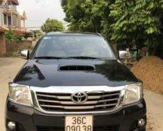Bán Toyota Hilux 2.5E đời 2014, màu đen, 495tr giá 495 triệu tại Thanh Hóa