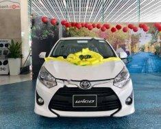 Bán Toyota Wigo 1.2G đời 2018, màu trắng, nhập khẩu   giá 405 triệu tại Hải Dương