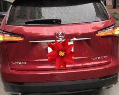 Bán xe Lexus NX 200T đời 2015, màu đỏ, nhập khẩu giá 2 tỷ 215 tr tại Tp.HCM
