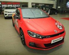Bán xe thể thao 2 cửa nhập khẩu - Volkswagen Scirocco màu đỏ, bản độ football 2018/ Hotline: 090.898.8862 giá 1 tỷ 399 tr tại Tp.HCM