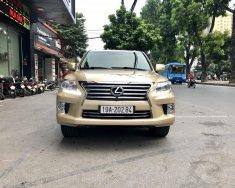 Bán Lexus LX570 sản xuất 2009 màu vàng, xe nhập Mỹ giá 2 tỷ 890 tr tại Hà Nội