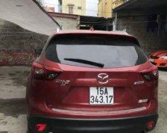 Cần bán lại xe Mazda CX 5 năm sản xuất 2017, màu đỏ, 945tr giá 945 triệu tại Hải Phòng