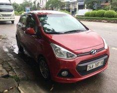 Chính chủ bán xe Hyundai Grand i10 sản xuất năm 2016, màu đỏ giá 370 triệu tại Hải Phòng
