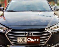 Bán xe cũ Hyundai Elantra 1.6 AT đời 2016, màu đen giá 610 triệu tại Hà Nội