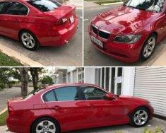 Cần bán BMW 320i năm 2009 nhập khẩu Đức, xe màu đỏ, ghế da màu kem giá 550 triệu tại Tp.HCM