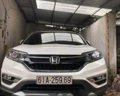 Bán Honda CRV 2.0 (2015) màu trắng, option đầy đủ, toàn bộ zin giá 825 triệu tại Tp.HCM