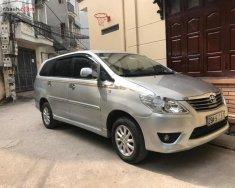 Bán Toyota Innova 2.0E đời 2014, màu bạc, tư nhân mua từ mới giá 540 triệu tại Hà Nội