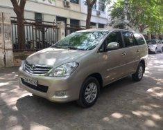 Bán chiếc Innova 2.0 bản G, mầu nâu vàng, sx cuối năm 2010, xe chính chủ giá 393 triệu tại Hà Nội