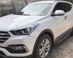 Bán ô tô Hyundai Santa Fe 2.2L đời 2017, màu trắng   giá 1 tỷ 80 tr tại Hà Nội
