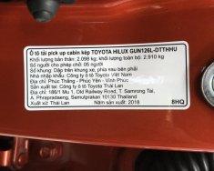 Bán xe Toyota Hilux G số tự động - Bản cao cấp 2018 lướt nhẹ 800km giá 900 triệu tại Tp.HCM