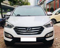 Bán ô tô Hyundai Santa Fe 2.2 AT năm 2015, màu trắng giá 995 triệu tại Hà Nội