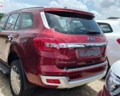 Bán Ford Everest Titanium 2.0L 4x2 AT 2018, màu đỏ, nhập khẩu giá 1 tỷ 399 tr tại Hà Nội