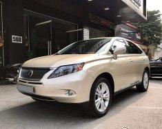 Cần bán xe Lexus RX 450h Hybrid, sản xuất 2009, màu ghi vàng, nhập khẩu nguyên chiếc giá 1 tỷ 490 tr tại Hà Nội