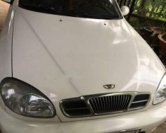 Bán Daewoo Lanos MT sản xuất 2001, màu trắng, xe đẹp giá 100 triệu tại Tây Ninh