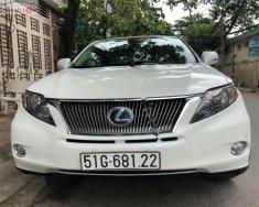 Bán xe Lexus RX 450H sản xuất 2010, màu trắng, xe nhập giá 1 tỷ 590 tr tại Tp.HCM
