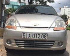 Cần bán gấp Chevrolet Spark đời 2010, màu bạc số tự động giá 178 triệu tại Tp.HCM