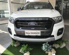 Bán ô tô Ford Ranger 2018 Wildtrak 2.0L 4* 4 Bi-Turbo, màu trắng, nhập khẩu, giá tốt giá 918 triệu tại Bình Định