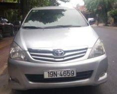 Cần bán gấp Toyota Innova G 2010, màu bạc  giá 440 triệu tại Vĩnh Phúc
