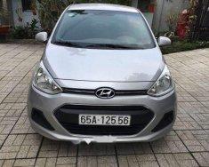Bán Hyundai Grand i10 MT sản xuất năm 2017, màu bạc xe gia đình giá 346 triệu tại Bình Dương