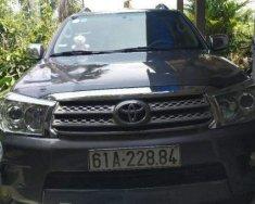 Bán Toyota Fortuner sản xuất 2010, màu xám, giá 600tr giá 600 triệu tại Bình Dương