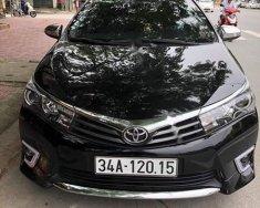 Bán xe cũ Toyota Corolla altis 2.0 năm 2015, màu đen, 720tr giá 720 triệu tại Hải Dương
