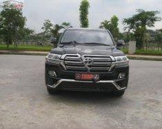 Cần bán lại xe Toyota Land Cruiser VX 4.6 V8 2016, màu đen, nhập khẩu nguyên chiếc giá 3 tỷ 800 tr tại Thái Nguyên