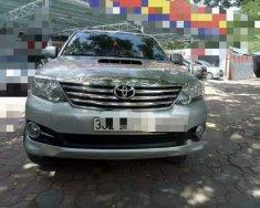 Bán xe cũ Toyota Fortuner MT đời 2016, màu bạc giá 880 triệu tại Hà Nội