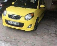 Cần bán xe Kia Morning SLX năm sản xuất 2011, màu vàng số tự động, giá 269tr giá 269 triệu tại Bắc Ninh