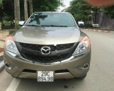 Bán xe Mazda BT 50 2.2L 4x4 MT đời 2014, màu vàng, nhập khẩu giá 465 triệu tại Hà Nội