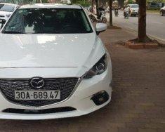 Bán Mazda 3 1.5 AT 2015, màu trắng   giá 595 triệu tại Hà Nội